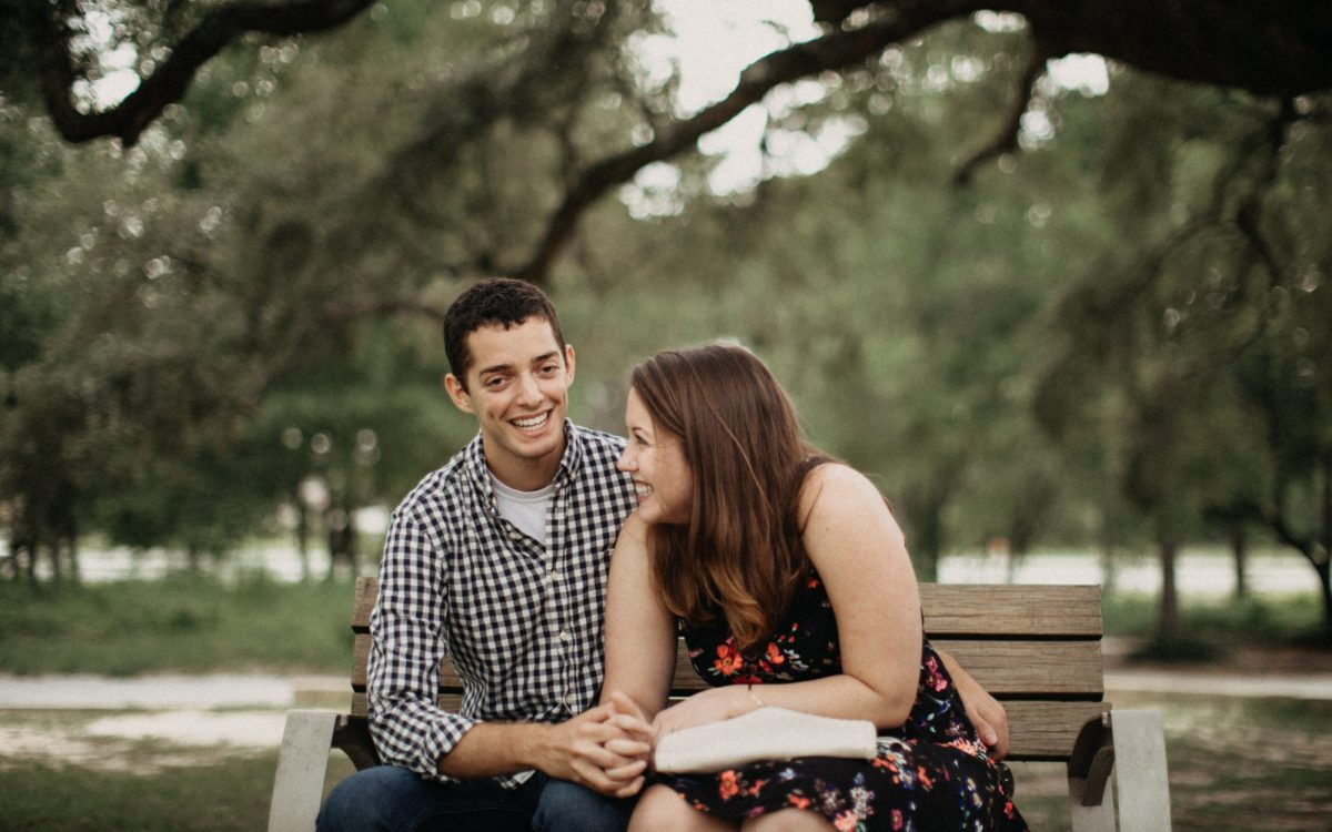 Pensacola Naval Air Station Engagement -- Kim & Marc