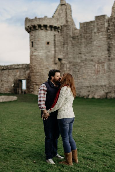 Craigmillar Castle Engagement -- Mark & Ceirwen