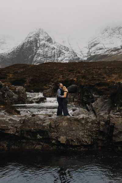 Scotland Fairy Pools Engagement -- Laura & Paul