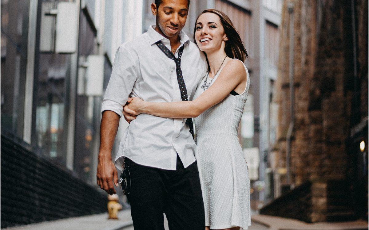 Pittsburgh Urban Elopement -- Joshua & Anna
