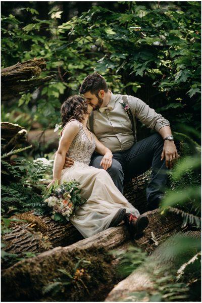 Washington Backyard Wedding -- Mark & Lily
